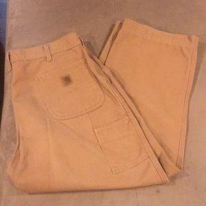 Men's Carhartt Dungaree Pants 38 38x28